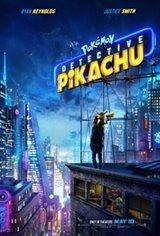 Pokémon Detective Pikachu 3D Large Poster