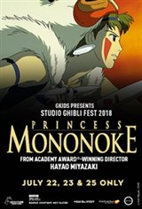 Princess Mononoke - Studio Ghibli Fest 2019 Movie Poster