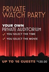 Private Watch Party (16 guests) Large Poster