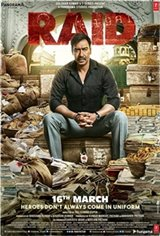Raid (Hindi) Movie Poster