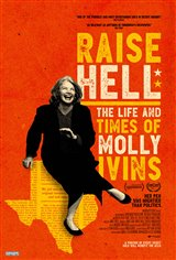 Raise Hell: The Life and Times of Molly Ivins Movie Poster