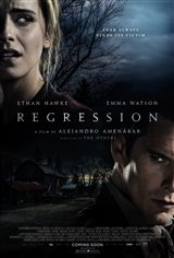 Regression Movie Poster
