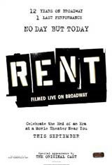 Rent: Filmed Live on Broadway Movie Poster