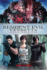 Resident Evil: Vendetta Movie Poster