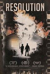 Resolution Movie Poster
