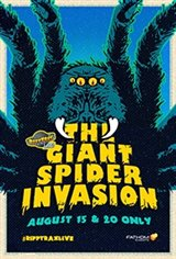 RiffTrax Live: Giant Spider Invasion Movie Poster