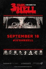 Rob Zombie's 3 From Hell - Night Three Movie Poster