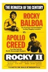 Rocky II Movie Poster