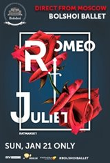 Romeo and Juliet - Bolshoi Ballet Movie Poster