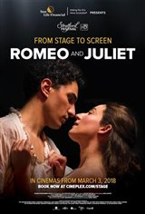 Romeo and Juliet - Stratford Festival HD Movie Poster