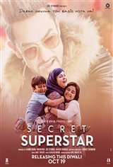 Secret Superstar (Hindi w/e.s.t.) Movie Poster