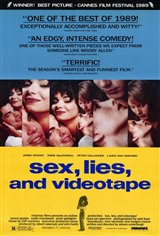Sex, Lies and Videotape Movie Poster
