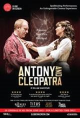 Shakespeare's Globe on Screen: Antony & Cleopatra Movie Poster