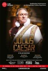 Shakespeare's Globe on Screen: Julius Caesar Movie Poster