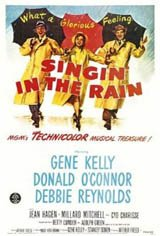 Singin' in the Rain - Classic Film Series Movie Poster