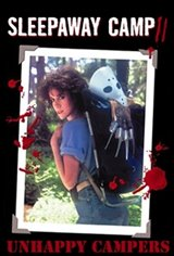 Sleepaway Camp II: Unhappy Campers Movie Poster