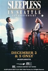 Sleepless in Seattle 25th Anniversary Large Poster