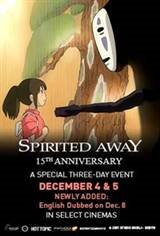 Spirited Away: 15th Anniversary Movie Poster