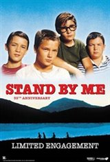 Stand By Me 35th Anniversary Movie Poster