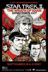 Star Trek II: The Wrath of Khan 35th Anniversary Movie Poster