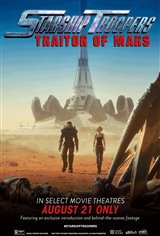 Starship Troopers: Traitor of Mars Movie Poster