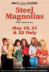 Steel Magnolias 30th Anniversary (1989) presented by TCM Movie Poster