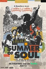 Summer of Soul (...Or, When the Revolution Could Not Be Televised) Movie Poster
