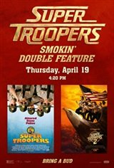 Super Troopers Double Feature Movie Poster