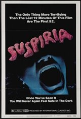 Suspiria (1977) Movie Poster