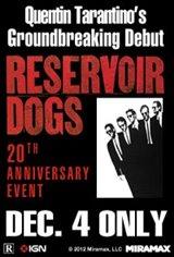 Tarantino XX: Reservoir Dogs 20th Anniversary Event Movie Poster
