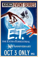 TCM Presents E.T. The Extra-Terrestrial 30th Anniversary Event Large Poster