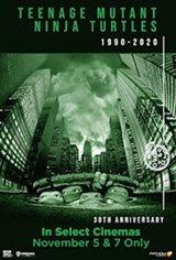 Teenage Mutant Ninja Turtles (1990) 30th Anniversary Movie Poster