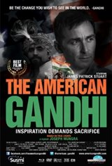 The American Gandhi Large Poster