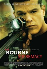 The Bourne Supremacy Movie Poster