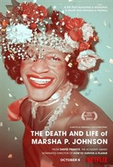 The Death and Life of Marsha P. Johnson Large Poster