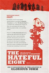 The Hateful Eight: 70mm Movie Poster