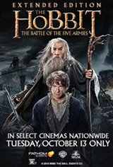 The Hobbit: The Battle of the Five Armies Extended Edition  Movie Poster