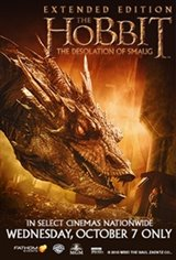 The Hobbit: The Desolation of Smaug Extended Edition Movie Poster
