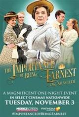 The Importance of Being Earnest LIVE Movie Poster