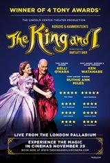 The King and I - LIVE From the West End Large Poster