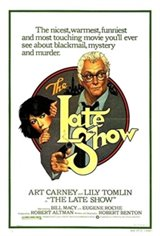The Late Show (1977) Movie Poster