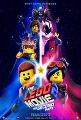 The LEGO Movie 2: The Second Part in 3D Movie Poster