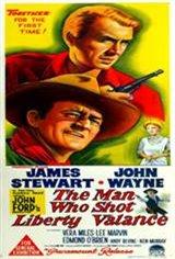 The Man Who Shot Liberty Valance Movie Poster