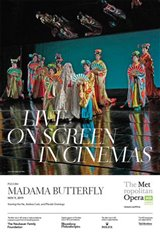 The Metropolitan Opera: Madama Butterfly (2019) - Live Movie Poster