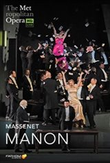 The Metropolitan Opera: Manon ENCORE Movie Poster