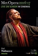 The Metropolitan Opera: Nabucco ENCORE Movie Poster