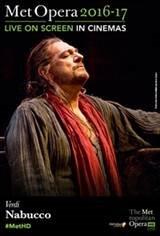 The Metropolitan Opera: Nabucco ENCORE Movie Poster