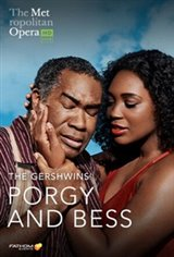 The Metropolitan Opera: Porgy and Bess ENCORE Large Poster