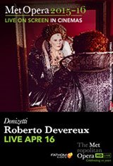 The Metropolitan Opera: Roberto Devereux Movie Poster