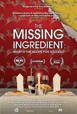The Missing Ingredient: What is the Recipe for Success? Movie Poster